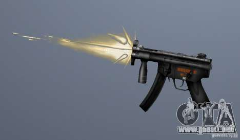 H&K MP5K para GTA San Andreas tercera pantalla