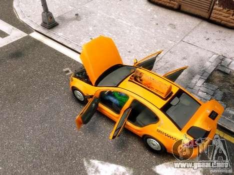 Holden NYC Taxi para GTA 4 vista lateral