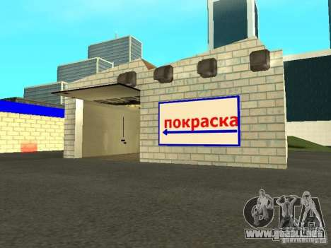 Auto VAZ en San Fierro para GTA San Andreas tercera pantalla