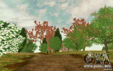 Project Oblivion 2010 Sunny Summer para GTA San Andreas tercera pantalla