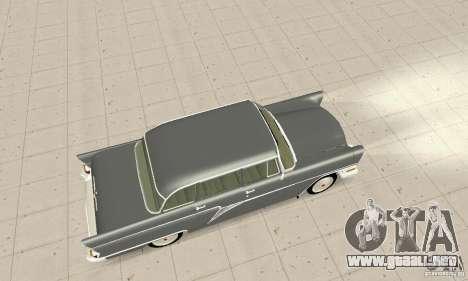 GAZ 13 Chaika v2.0 para visión interna GTA San Andreas