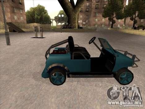 Small Cabrio para GTA San Andreas left