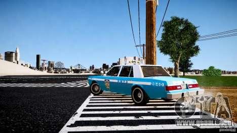 Dodge Diplomat 1983 Police v1.0 para GTA 4 visión correcta