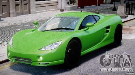 Ascari KZ-1 para GTA 4 left