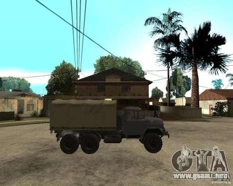 ZIL 131 para la visión correcta GTA San Andreas