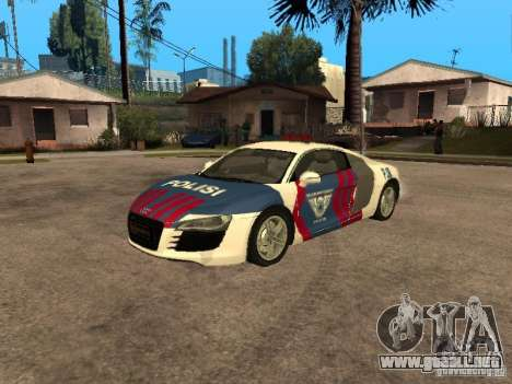 Audi R8 Police Indonesia para GTA San Andreas