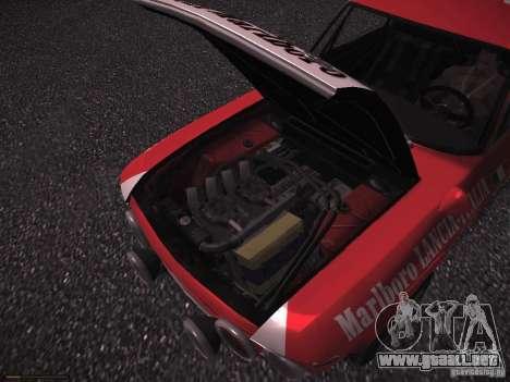 Lancia Fulvia Rally Marlboro para la vista superior GTA San Andreas