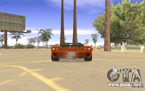 Veloche coche para visión interna GTA San Andreas