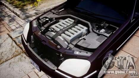 Mercedes-Benz 600SEC C140 1992 v1.0 para GTA 4 vista interior