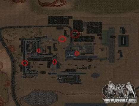 Chernobyl MOD v1 para GTA San Andreas segunda pantalla