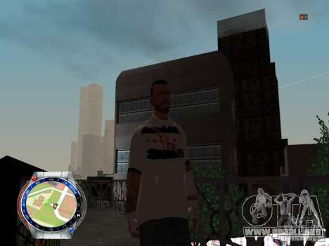 CM PUNK 2011 attaer para GTA San Andreas