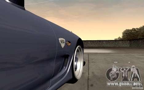 Mazda RX-7 Hellalush para visión interna GTA San Andreas