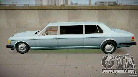 Rolls-Royce Silver Spirit 1990 Limo para GTA San Andreas left