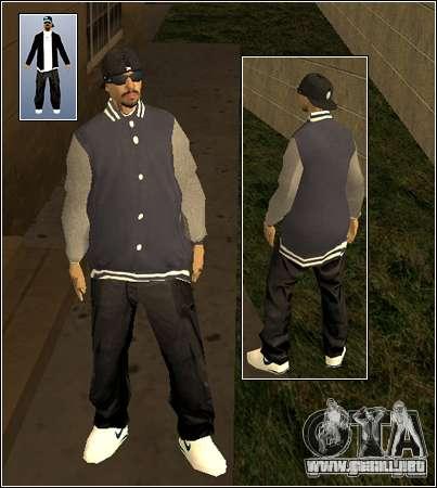 Piel Pack Getto para GTA San Andreas segunda pantalla