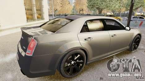 Chrysler 300 SRT8 2012 para GTA 4 left