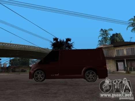 Ford Transit Tuning para GTA San Andreas left