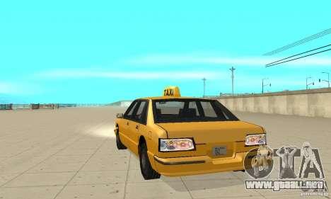 New lights and crash para GTA San Andreas segunda pantalla