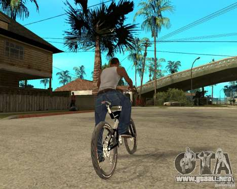 Diamondback strike Beta para GTA San Andreas vista posterior izquierda
