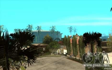 New Grove Street TADO edition para GTA San Andreas quinta pantalla