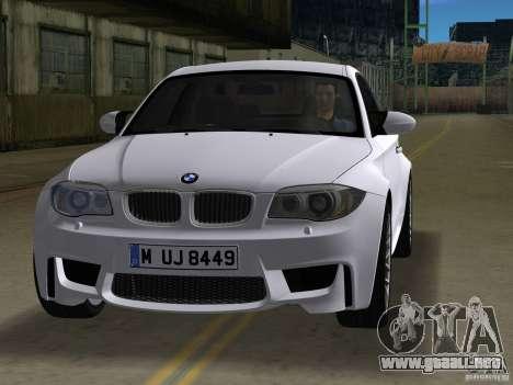 BMW 1M Coupe RHD para GTA Vice City left