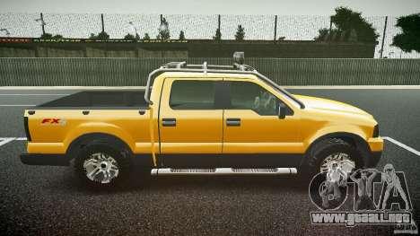 Ford F150 FX4 OffRoad v1.0 para GTA 4 vista interior