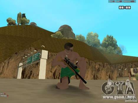 Weapon Pack V1.0 para GTA San Andreas tercera pantalla