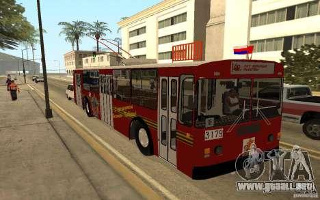 ZiU 682 para visión interna GTA San Andreas