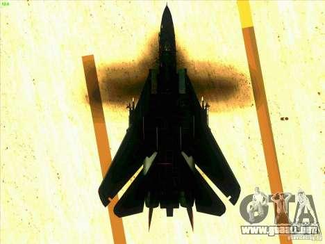 F-14 Tomcat Razgriz para GTA San Andreas interior