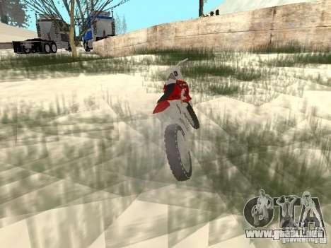 Nuevo Sanchez para la visión correcta GTA San Andreas