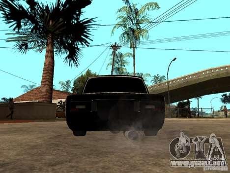 VAZ 2106 Tuning luz para GTA San Andreas vista posterior izquierda