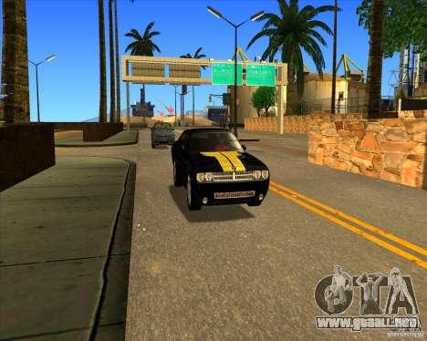 Hermoso entorno ENBSeries para GTA San Andreas octavo de pantalla