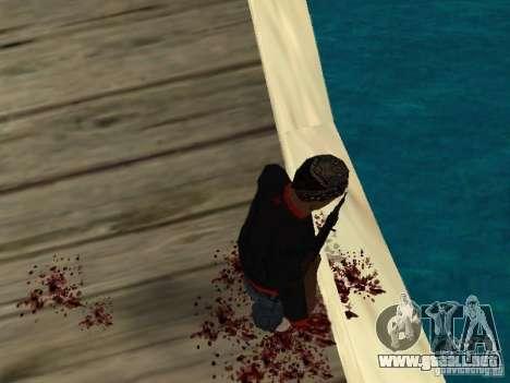 Muerte real para GTA San Andreas segunda pantalla