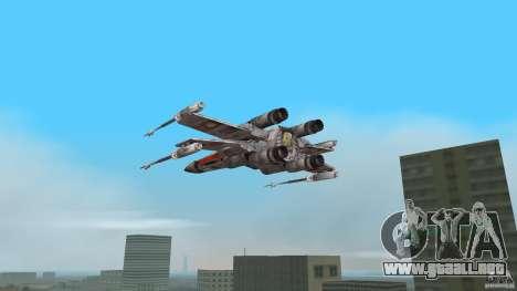 X-Wing Skimmer para GTA Vice City left