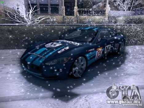 Maserati Gran Turismo S 2011 V2 para GTA San Andreas