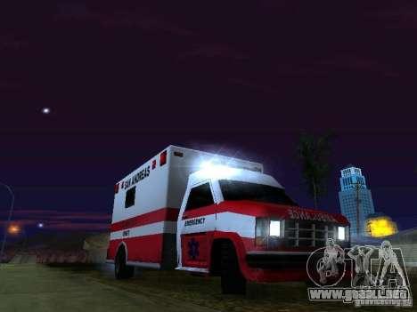 Ambulance 1987 San Andreas para el motor de GTA San Andreas