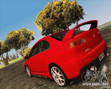 NFS The Run ENBSeries by Sankalol para GTA San Andreas tercera pantalla