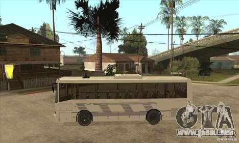 LAZ 42078 (trazador de líneas-10) para GTA San Andreas left