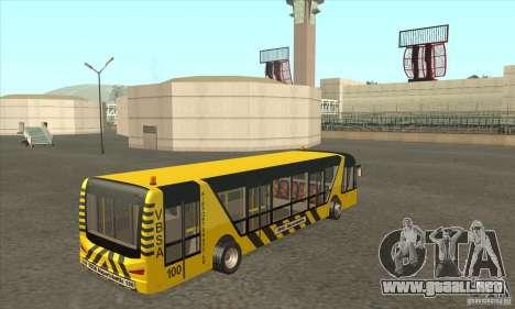 Autobús al aeropuerto para la visión correcta GTA San Andreas