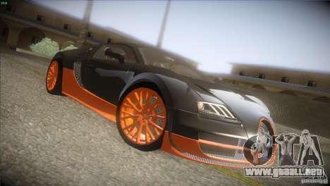 Bugatti Veyron Super Sport para visión interna GTA San Andreas