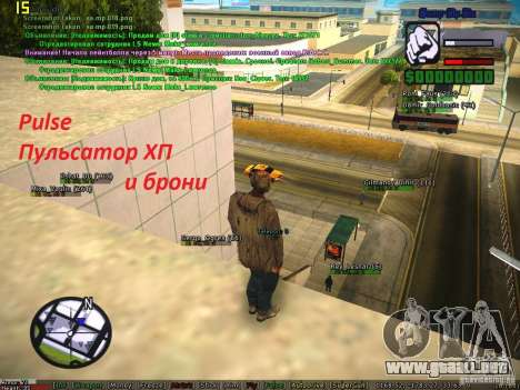 Sobeit for CM v0.6 para GTA San Andreas sexta pantalla