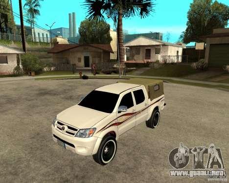 Toyota Hilux 2010 para GTA San Andreas