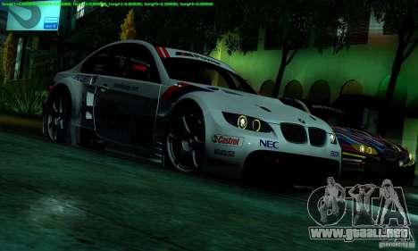 SA_gline 4.0 para GTA San Andreas quinta pantalla