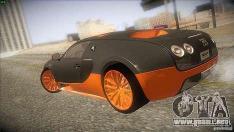 Bugatti Veyron Super Sport para la visión correcta GTA San Andreas