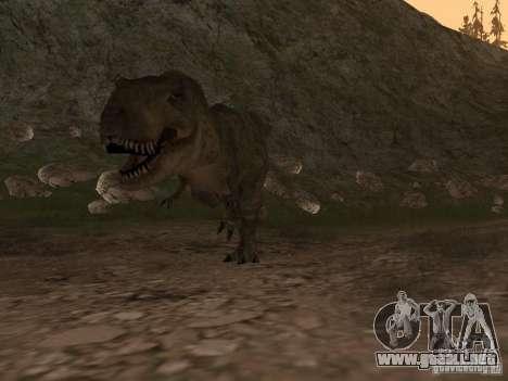 Dinosaurs Attack mod para GTA San Andreas tercera pantalla
