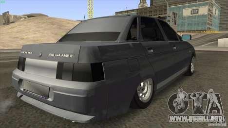 VAZ 2110 Dag para la visión correcta GTA San Andreas