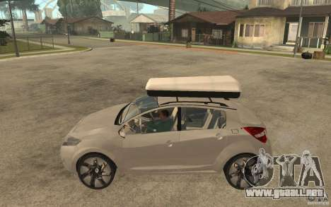 Renault Megane III para GTA San Andreas left