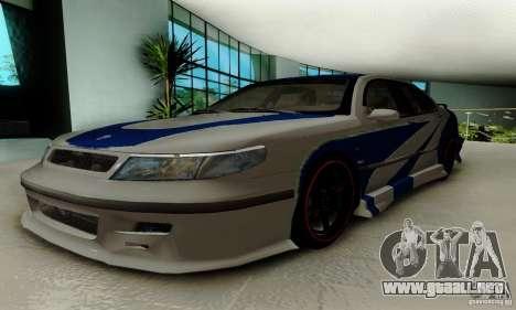 Saab 9-5 Sedan Tuneable para visión interna GTA San Andreas