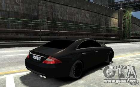 Mercedes Benz CLS Brabus Rocket 2008 para GTA 4 visión correcta