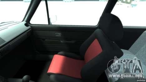 Volkswagen Golf Mk1 para GTA 4 vista hacia atrás