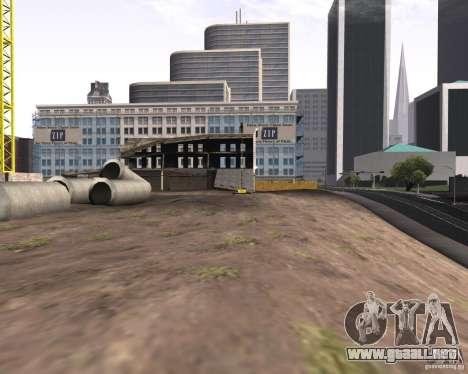 Una colección de mods gráficos para GTA San Andreas sucesivamente de pantalla
